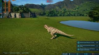 Jurassic World Evolution Isla Tacano long gameplay part#3/3(PC)