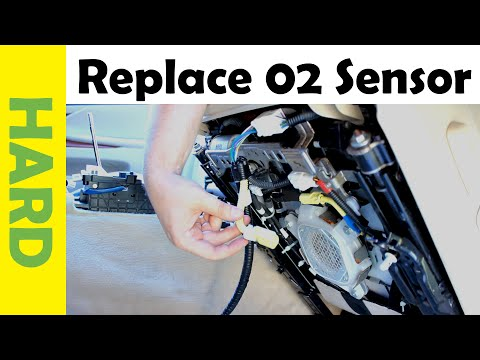 How to Replace Oxygen Sensor on Lexus Cars & Trucks O2 (Toyota's too)