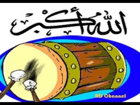 Menabuh Bedug Diiringi Takbiran & Shalawat - Idul Adha 2017
