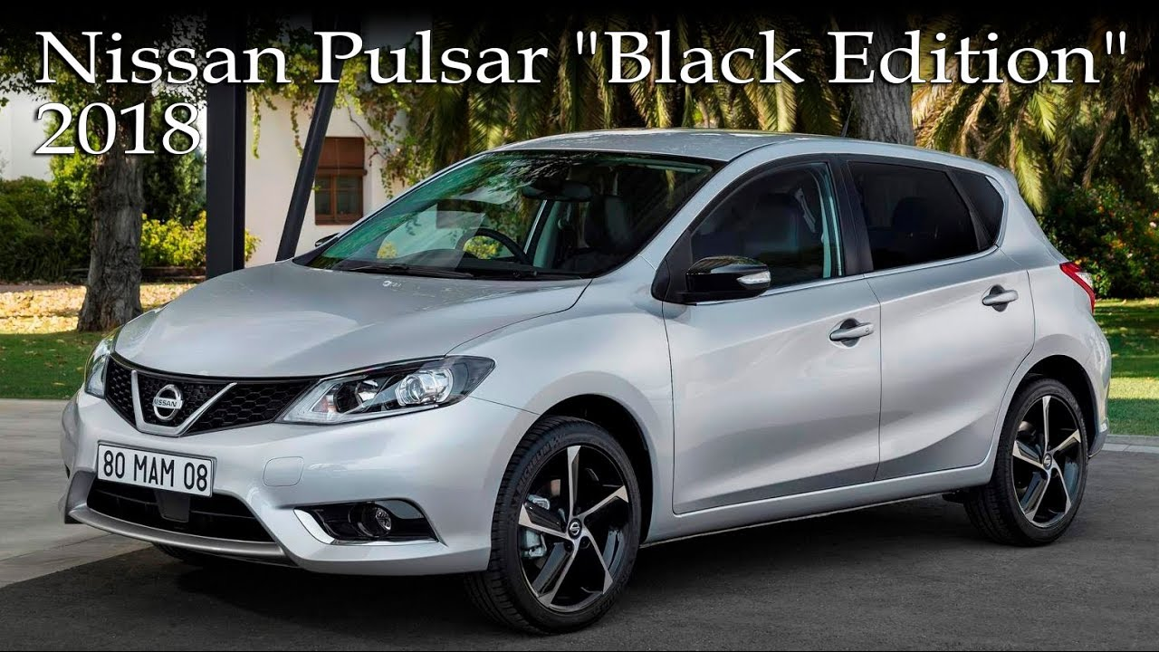 2018 nissan pulsar black edition youtube. Black Bedroom Furniture Sets. Home Design Ideas