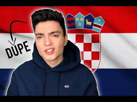 TRYING TO SPEAK CROATIAN (not Serbian)