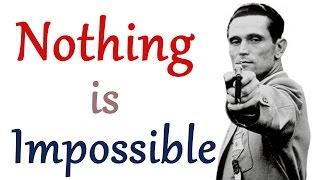 Video NOTHING IS IMPOSSIBLE IN HINDI |  कुछ भी असंभव नहीं है | REAL MOTIVATIONAL VIDEO IN HINDI - 3 download MP3, 3GP, MP4, WEBM, AVI, FLV November 2018