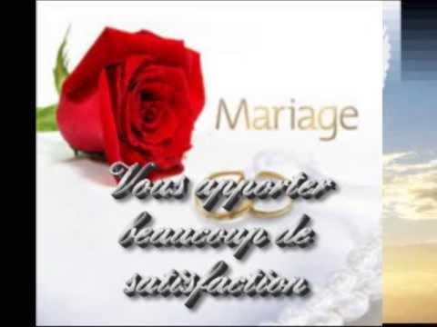 mickal pouvin flicitation sa soeur pour son mariage - Texte De Felicitation De Mariage