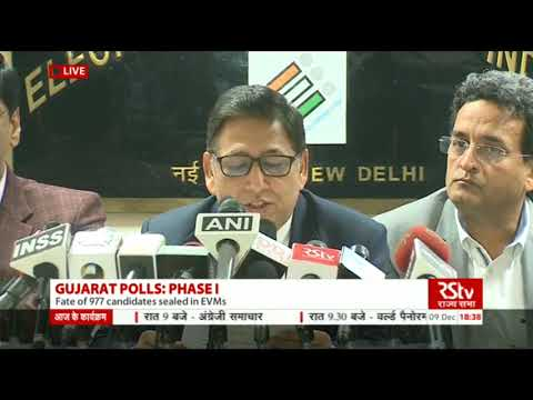 Election Commission Press Conference on Gujarat First Phase Poll