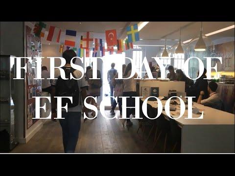 FIRST DAY AT SCHOOL - EF PARIS | Berill Bihari