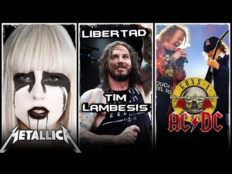 Así sonara Lady Gaga con METALLICA | Tim Lambesis sale de la CARCEL | Angus Young juega broma a GNR