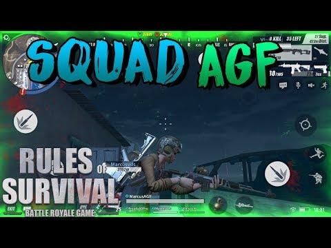 Rules of Survival - Primeira live depois da Atualização