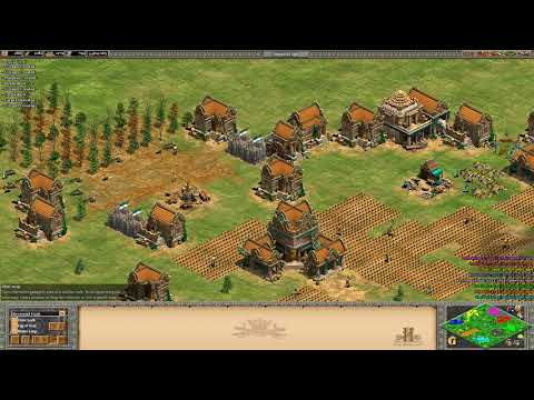 Age of Empires 2 HD 4v4 Green Arabia-Frankish knights