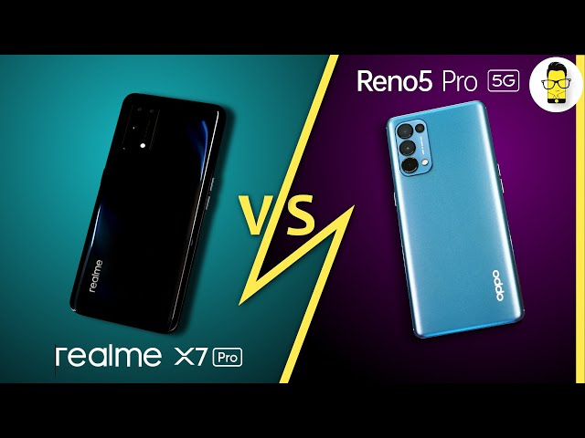 OPPO Reno5 Pro 5G vs. Realme X7 Pro🔥 | Which phone takes better photos? [Giveaway Alert‼️]