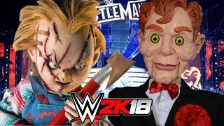 WWE 2K18 | CHUCKY vs SLAPPY