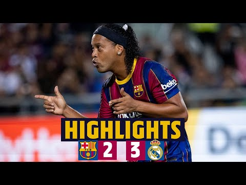 HIGHLIGHTS | Barça Legends 2-3 Real Madrid Leyendas