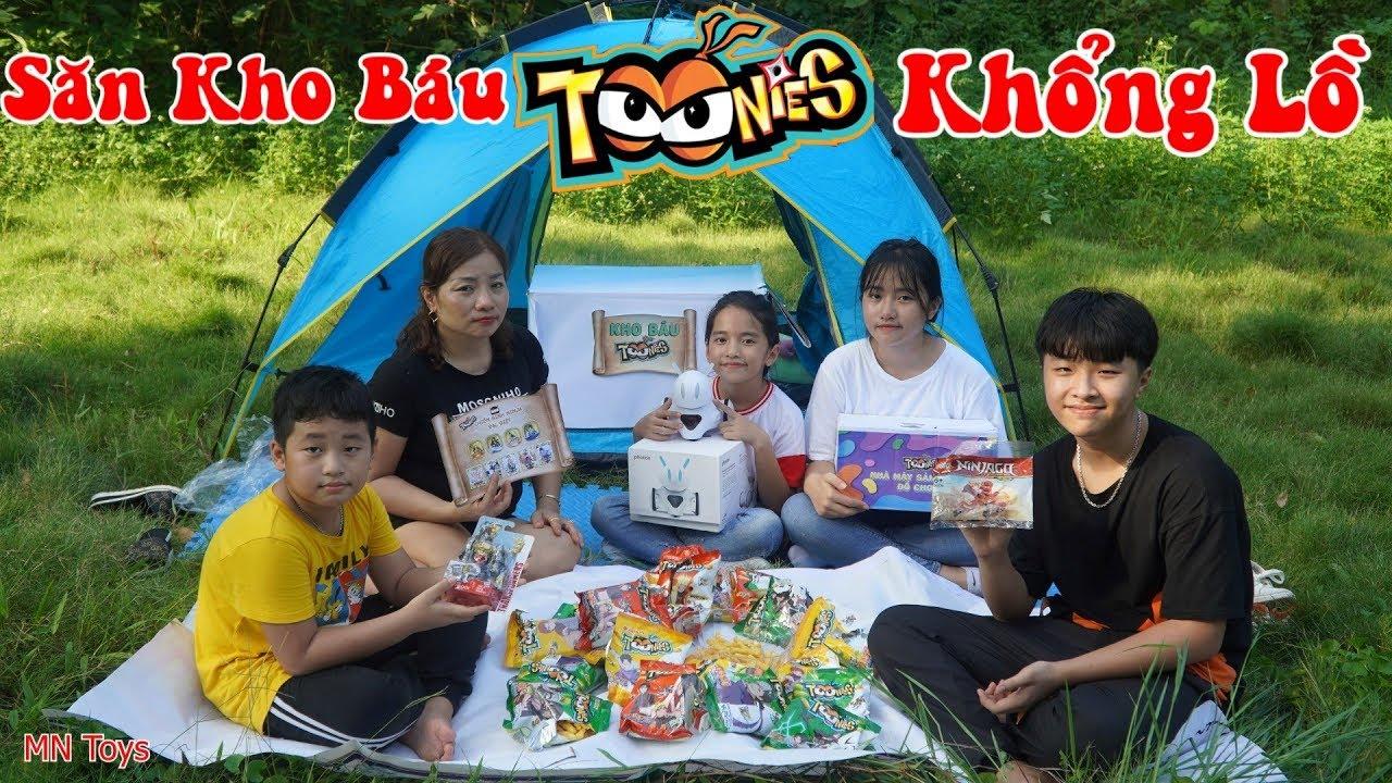 Săn Kho Báu Toonies Khổng Lồ, Hai Chị Em Hồng Anh Tìm Được Cả Siêu Robot và Nhiều Đồ Chơi Hấp Dẫn