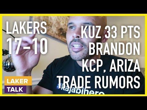 Another Lakers Win, Kuzma 33 pts, BI Talk, KCP for Ariza Trade Rumors