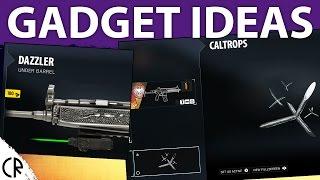 Gadget Ideas - Tom Clancy's Rainbow Six Siege R6
