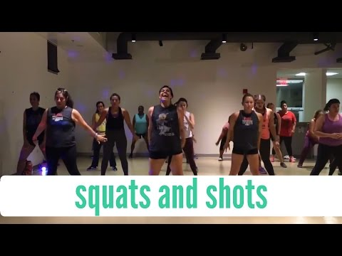 Squats and Shots by Vigiland || Cardio Dance Party with Berns