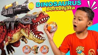 Drama Praya Menemukan Telur Dinosaurus |  Zuru 5 Surprise Dino Strike