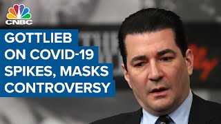 """Dr. scott gottlieb, member of the boards pfizer, tempus and biotech company illumina former fda commissioner, joins """"squawk box"""" to discuss latest..."""