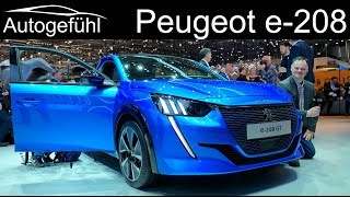 All-new Peugeot 208 REVIEW with EV Peugeot e-208 GT - Autogefühl