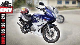 Suzuki GS500F - Pierwsze wrażenia z jazdy + mini wywiad z właścicielem feat. Q-Biker - CMV#241