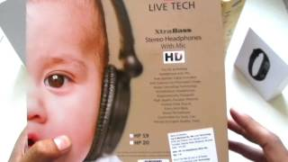Live Tech HeadPhones HP19 Review | Indian Product Reviewer