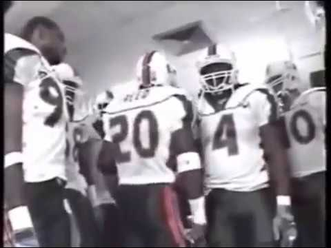 promo code 17984 fe644 Ed Reed Miami Hurricanes Halftime Speech (2001)