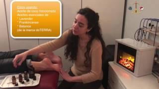 De circulación esenciales aceites dedos pies la en para los