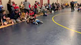 Parent Interferes with Finals Wrestling Match!
