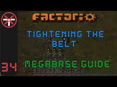 Factorio: Tightening The Belt: Megabase Guide EP34 - COMBAT ROBOTS | Tutorial Gameplay Series