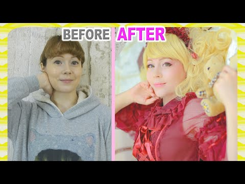 Girl To Lolita Transformation: Trying The Metamorphose Makeover In Japan