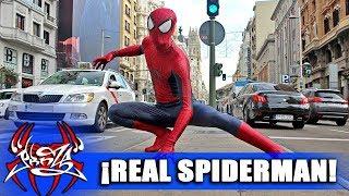 ¡SOY SPIDERMAN EN LA VIDA REAL!