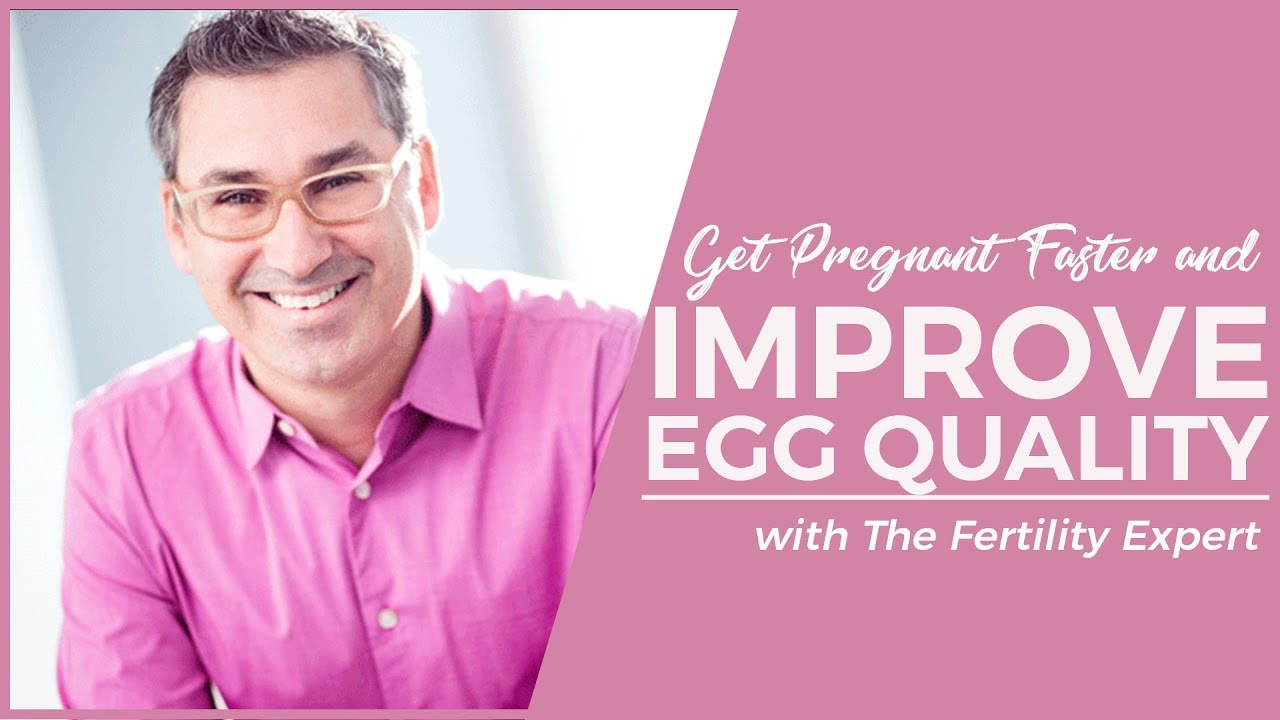 Get Pregnant Faster: Improve Egg Quality - YouTube