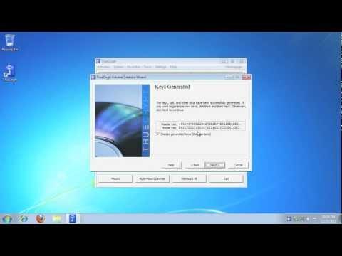 TrueCrypt Full Disk Encryption on Windows 7