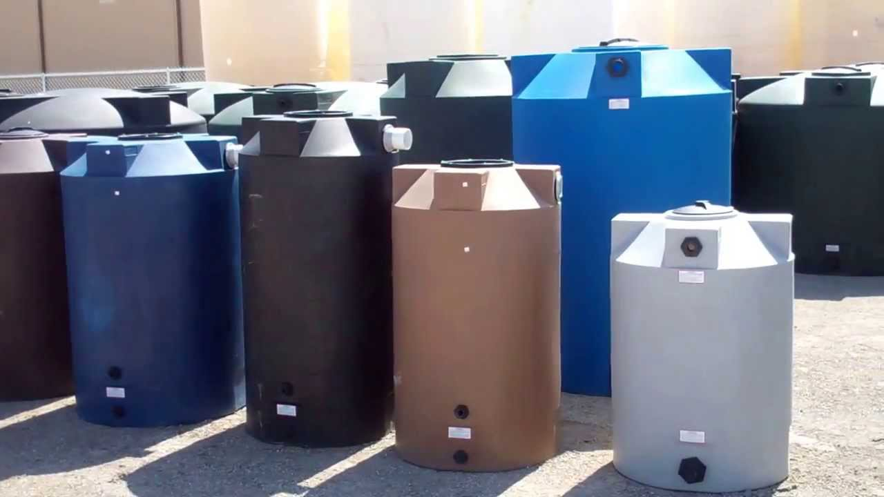 Water Storage Rain Harvesting Tanks and Emergency Storage Tanks | 866-866-8611 - YouTube : 75 gallon water storage tank  - Aquiesqueretaro.Com