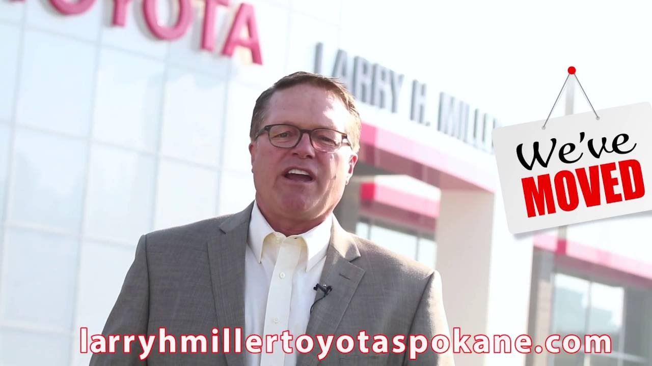 See Our New Toyota Dealership | Larry H. Miller Downtown Toyota Spokane