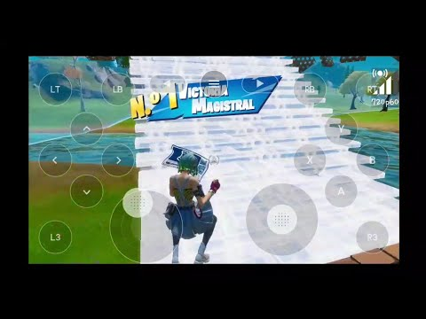 Fortnite Nvidia Games (android) Win! 8 Kills