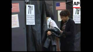 WRAP Polls open, voters in solid Democrat state, queues outside ADDS church voting