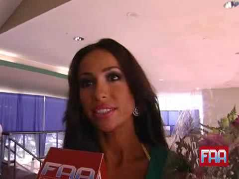 Natalia Muntean - Ms Bikini Universe Post-win Interview
