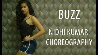 Buzz | Aastha Gill ft. Badshah | Dance Cover | Nidhi Kumar Choreography