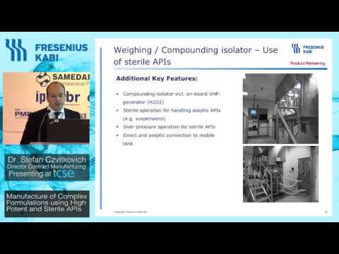Dr Stefan Czvitkovich - Injectable suspensions