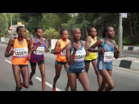 Access Bank Lagos City Marathon - The Beginning, The Race and The Triumphs!
