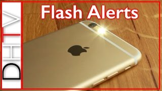 Here is how to setup flash alerts an notifications on your iphone 6s, 6, 5, 4 using iphones led camera flash. it's a very simple tip that you can use to...