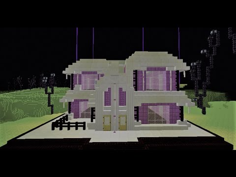 The House Of The End Minecraft Building 1 Youtube