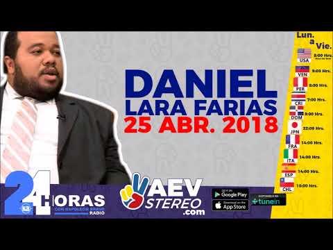 25ABR • DANIEL LARA FARIAS Y SU COMENTARIO SOBRE EL CAMBIO DE MANDO EN CUBA