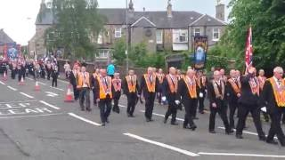 East of Scotland boyne celebrations falkirk