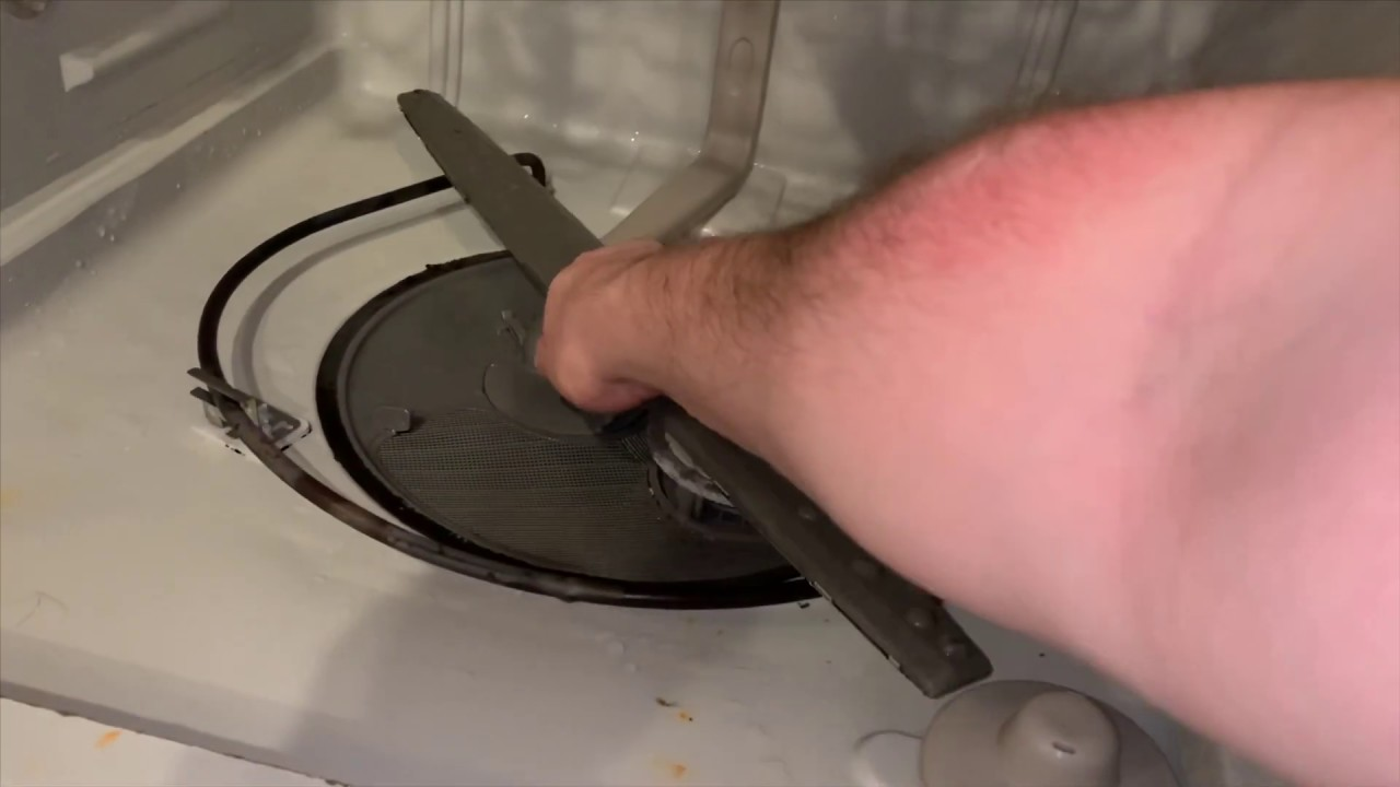 How To Test And Replace Heating Element On A Whirlpool Dishwasher W10518394 Youtube