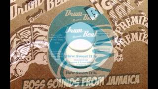 Clarendonians - How Sweet It Is - Version b/w Michael Martin+Hippy Boys - Drum Beat Special
