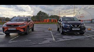 Geely Coolray Вошел в Nissan Qashqai