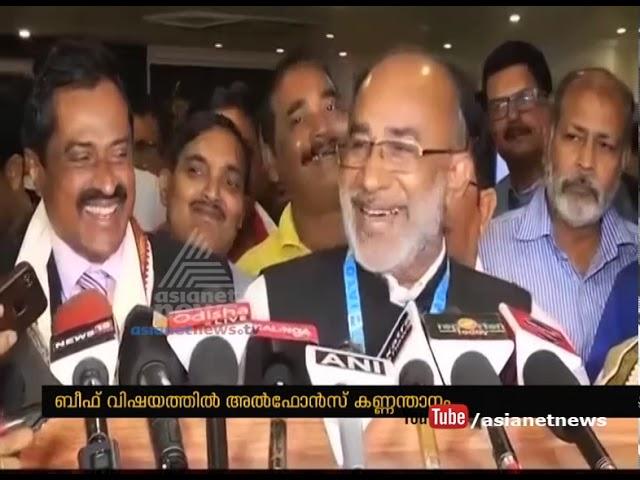 Alphons Kannanthanam's controversal statement on beef