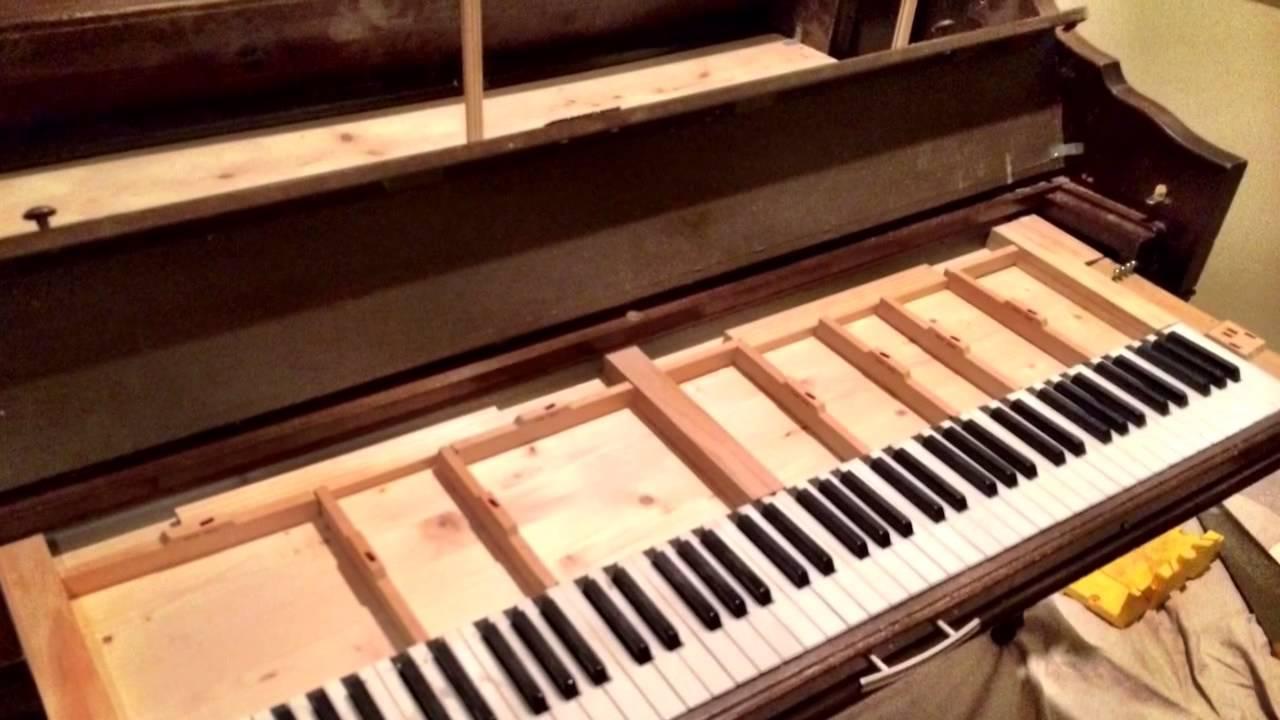 Piano to Bar repurposing project - YouTube