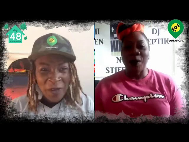 Touchroad interviews Dancehall Artist Ochi Queen@Shutterdown Festival UK Live, Virtual Festival2020